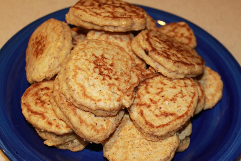 Quinoa-Cinnamon Pancakes