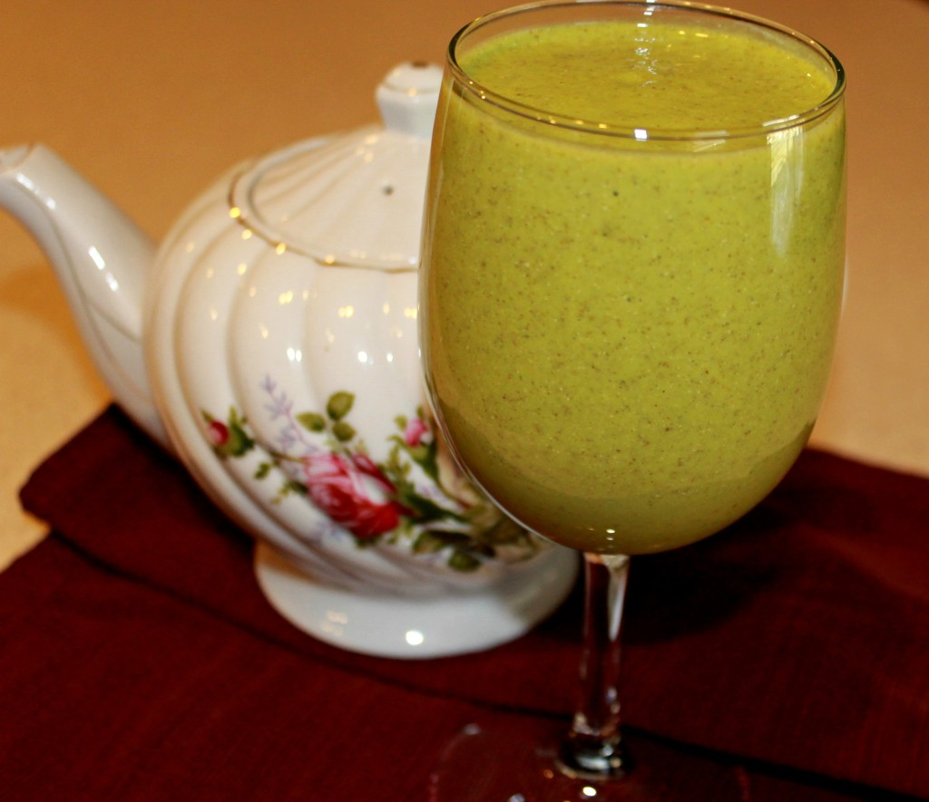 Green Peach Smoothie