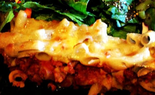 Brown Rice Pasta Lasagna
