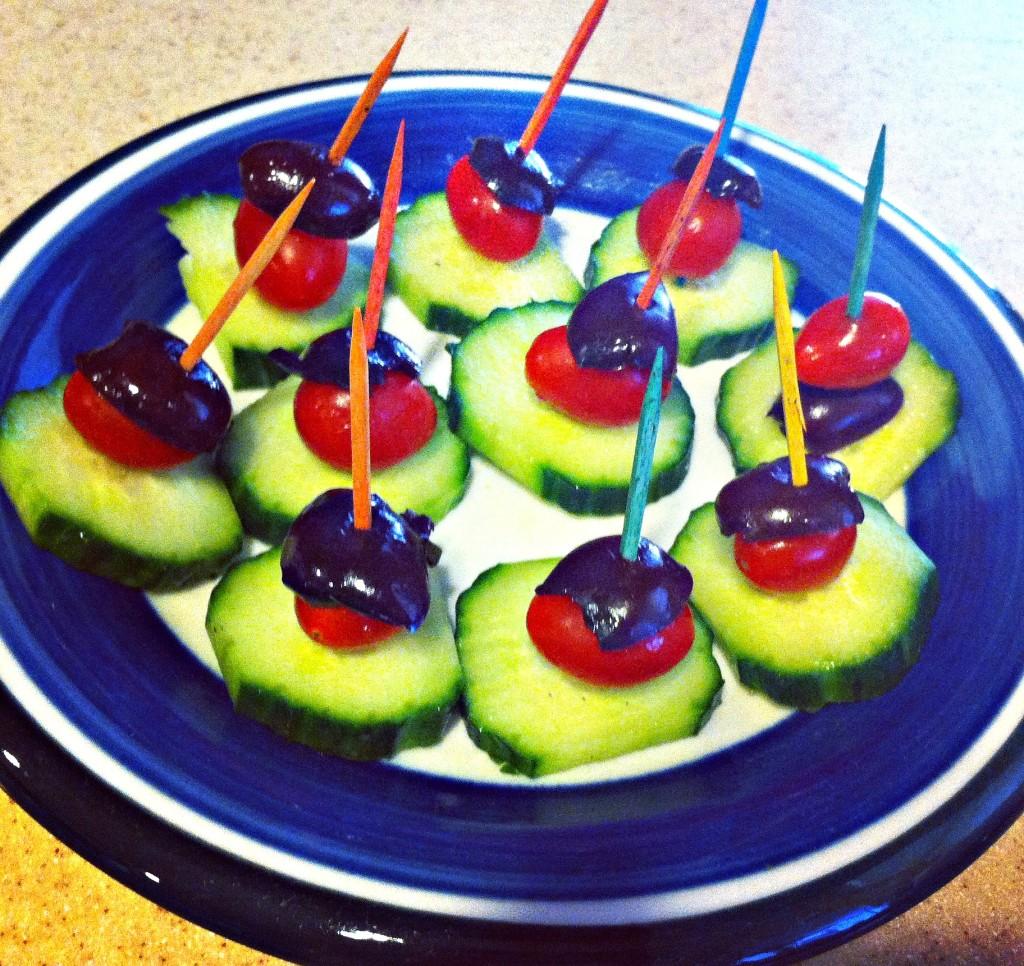 Cucumber Appetizers